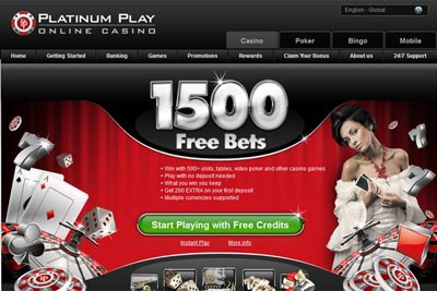 Platimum Play Online Casino