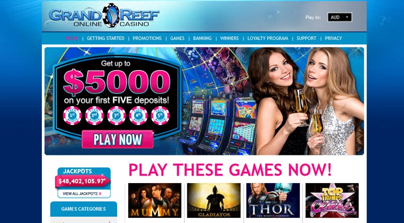 Grand Reef Casino Reviewed