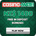 We recommend Casino Mate for hot pokies and more