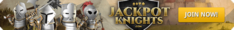 Play pokies online at Jackpot Knights Casino