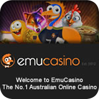 Play pokies at Emu Casino