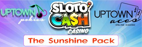 Sunshine Pack Slots Bonus - Deckmedia - Best Casino Bonus Offer