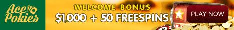 Play Pokies Online at Ace Pokies Casino