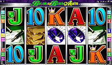 break da bank again 9 line online pokie machine