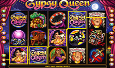 gypsy queen 20 line video bonus pokie