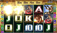 microgaming tomb raider secret of the sword 30 pay-line online aussie pokie