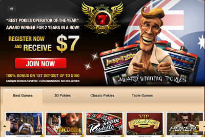 7Red Online Casino