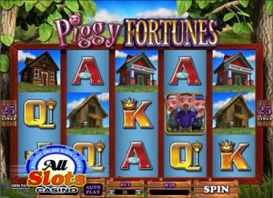 Piggy Fortunes Video Pokie Machine from Microgaming