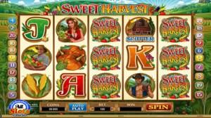 New pokie Sweet Harvest Video Pokie