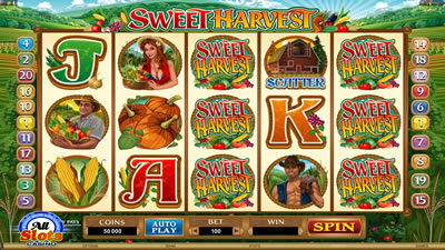 New pokie from Microgaming - Sweet Harvest