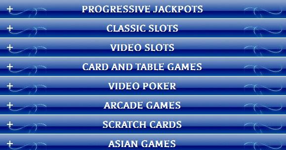 Grand Reef Casino Games