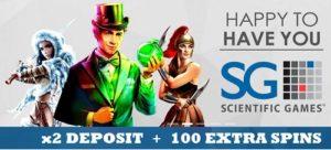 Slotsmillion and Scientific Games