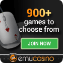 Play free or cash pokies at Emu Casino today