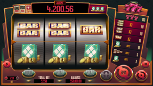 Play 777 - 3 Reel Pokie at Uptown Pokies