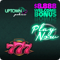 Uptown Pokies - Bigger bonuses means more time for playing pokies!