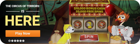 Halloween Pokie Promo from Emu Casino