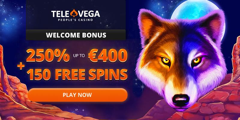 Play over 4000 Pokies at TeleVega Casino